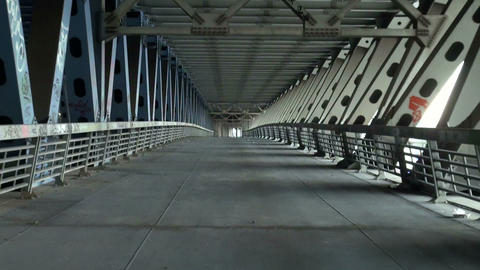 The Reinforced Concrete Bridge stock footage