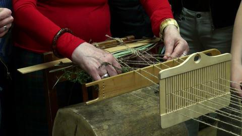 Spinning machine Stock Video Footage