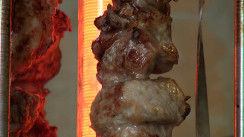shish kebab Stock Video Footage