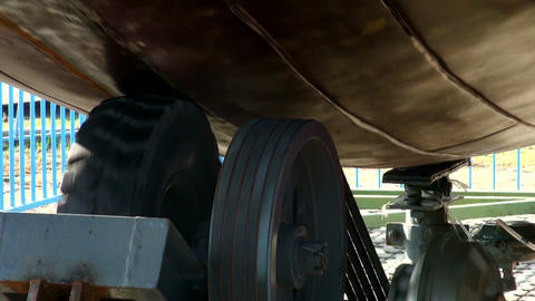 Braking mechanism Stock Video Footage
