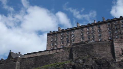 The Castle of Edinburgh Footage