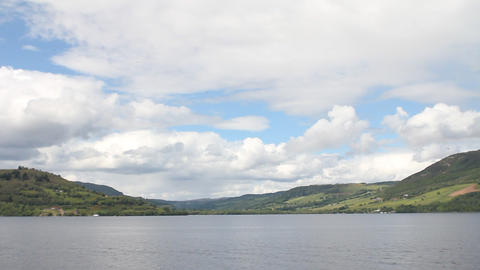 Loch Ness, in Scotland Footage