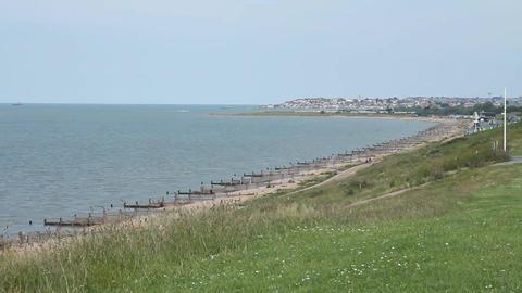 English coast in early summer Footage