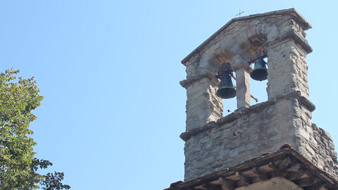 San Cristoforo's church in Cortona Footage