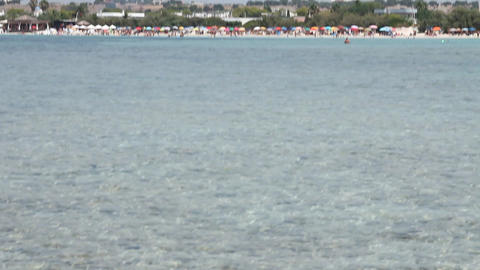 Beaches, sea and ripples of water Stock Video Footage