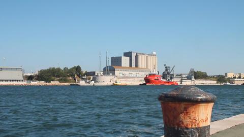 Port of Brindisi Stock Video Footage