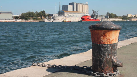 Port of Brindisi Stock Video Footage