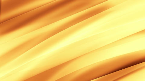 Abstract waving background, gold tint Animation