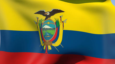 Flag of Ecuador Animation