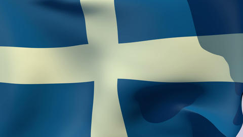 Flag of Greece 1822-1978 Animation