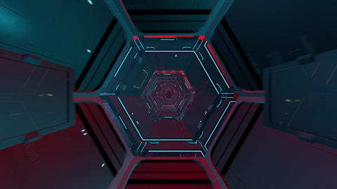 スペースコロニー HD CG動画素材