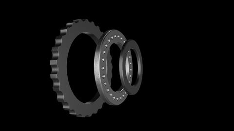 gears cogs and pinions Animation