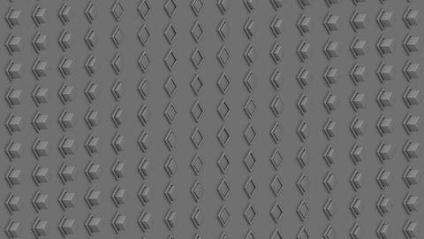 Abstract isometric background gray cubes buttons waves motion GIF