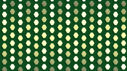Abstract isometric background cubes lights bulbs vertical waves flashing motion Animation