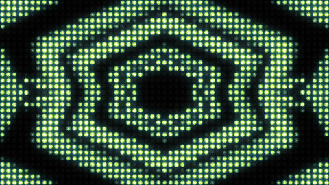 Endless pulsation of the pattern on the wall of light Animation