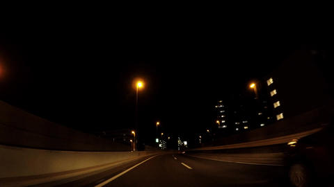 Japanese cityscape. Travel image of the expressway in Tokyo ライブ動画