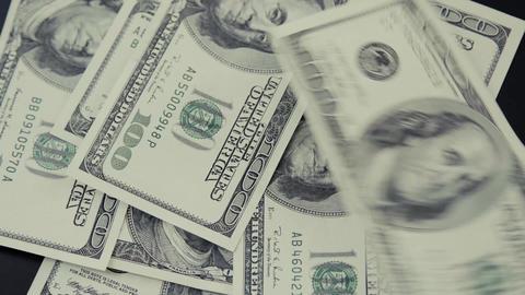 American dollar. Money Footage