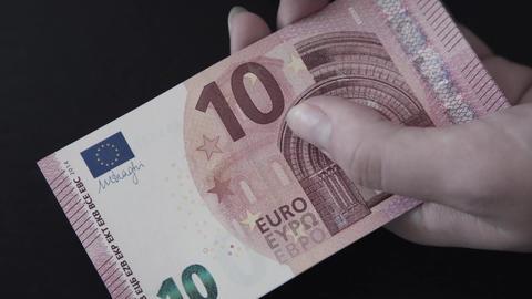 Euro. Money. Bill Live Action