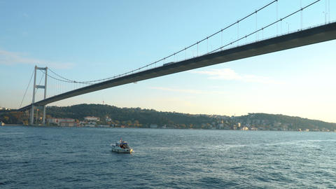View of Bosphorus, Istanbul Footage