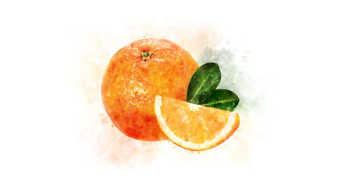 Decoration for a video about Orange Animation