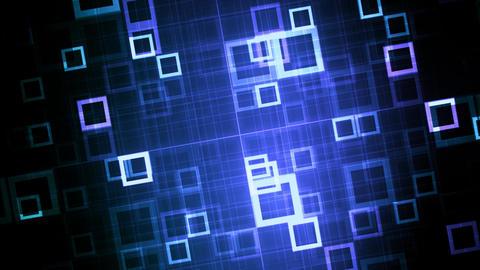 Blue Technology Data Grid GIF