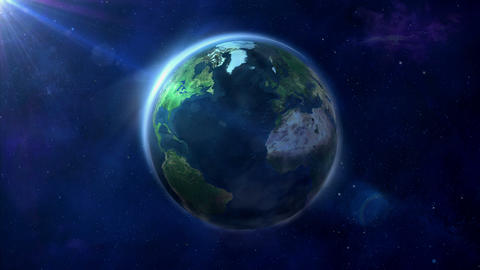Looped animation of the Earth GIF