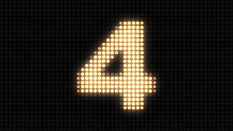 Wall light countdown Animation