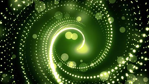 Green Glitter Twirls GIF