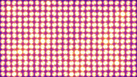 Lighting a wall of light using simple shapes Animation