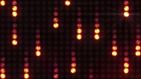 The effect of meteor shower on the wall of light Animation