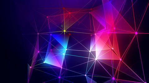 Glow Plexus Background Animation