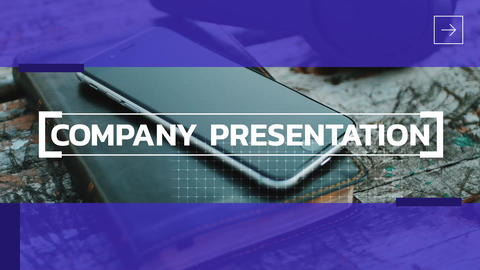 Company Presentation After Effects Template