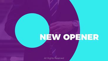 Creative Opener Premiere Pro Template
