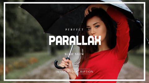 Neo Parallax Slideshow After Effects Template