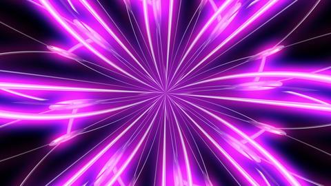 Flower Purple Kaleidoscope Stock Video Footage