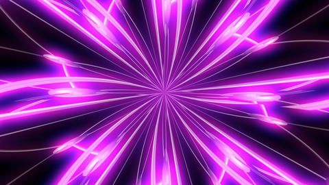 Flower Purple Kaleidoscope Animation