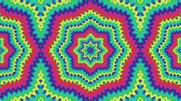 psychedelic Kaleidoscope CG動画素材