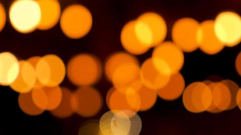 Defocused blurred bokeh light Footage