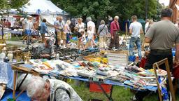 Flea market. Antique market Live Action