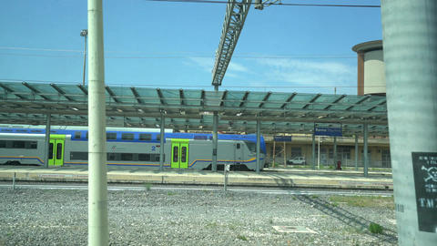 Roma Tiburtina station Footage