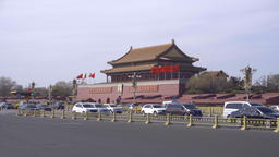 4k video of Tiananmen in Beijing Footage