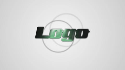 Falling Logo After Effects Template