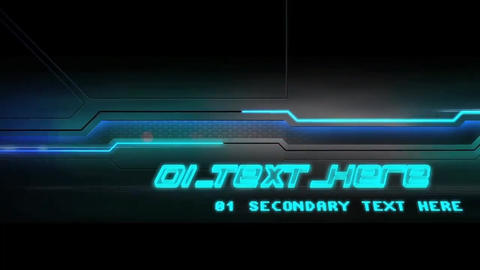 Tron Ignition After Effects Template