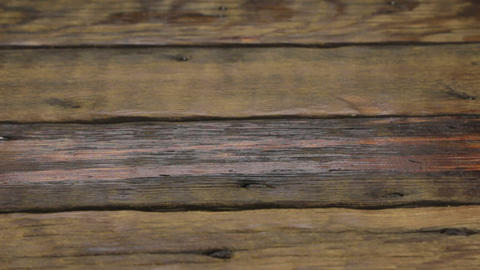 Wood texture background. Wooden planks background, weathered, with nails. Slider Footage