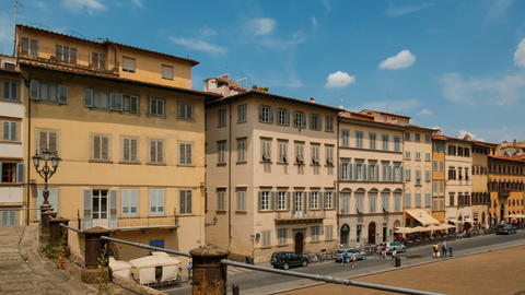 Palazzo Pitti, Florence, Tuscany, Italy Footage