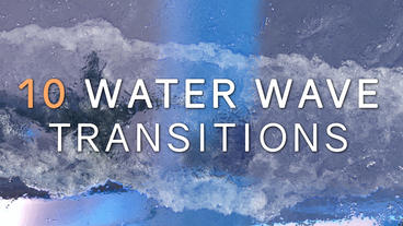 Water Wave Transitions Pack Premiere Pro Template
