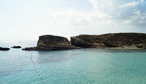 The Blue Lagoon in Malta Photo