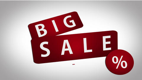 Big Sale Commercial CG動画素材