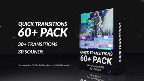 Quick Transitions Pack After Effects Template