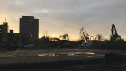 Demolition Site Panorama Live Action